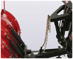 Western Plow Chain Lift System